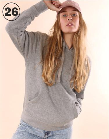 Basic Hooded Grey