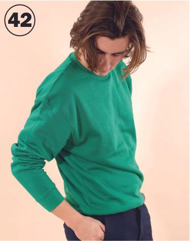 Basic Crewneck Green
