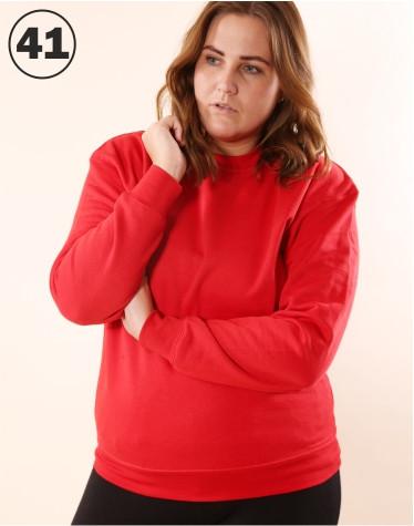 Basic Crewneck Red