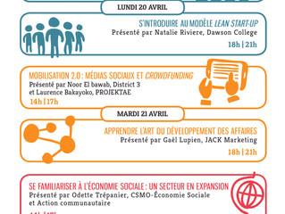 La programmation des Journées du métissage entrepreneurial est lancée!!