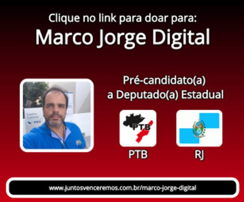 Link para Ajudar MarcoJorgeDigital nessa campanha para eleicoes2018