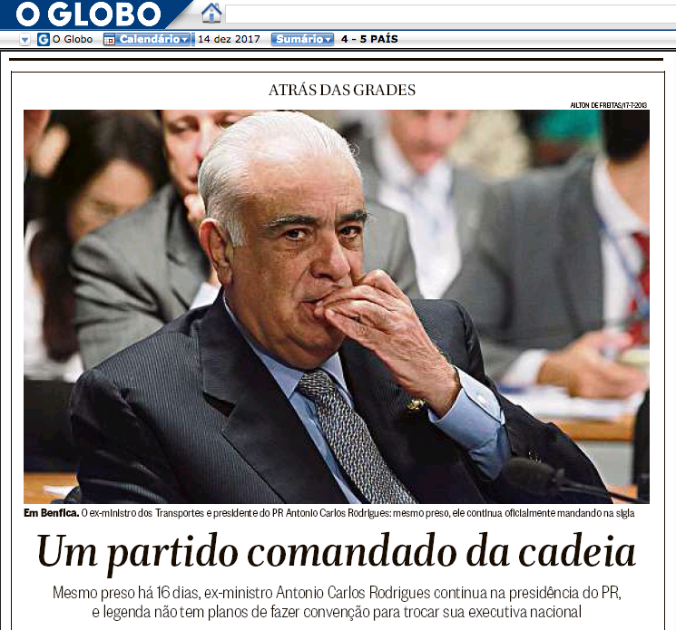 noticiaOGlobo14Dez17_SemelhancaTraficoPolitica