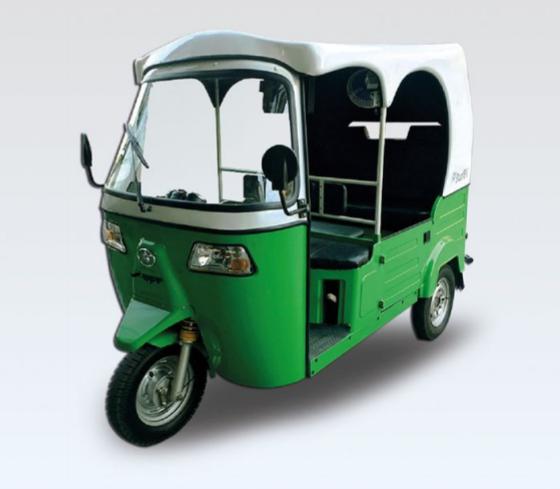 Solar Hybrid Trike