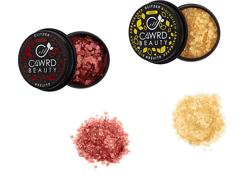 Biodegradable glitter 2 Set: Red and Gold