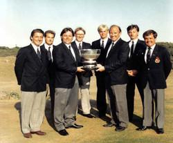 Welsh Team Championship Winners 1989