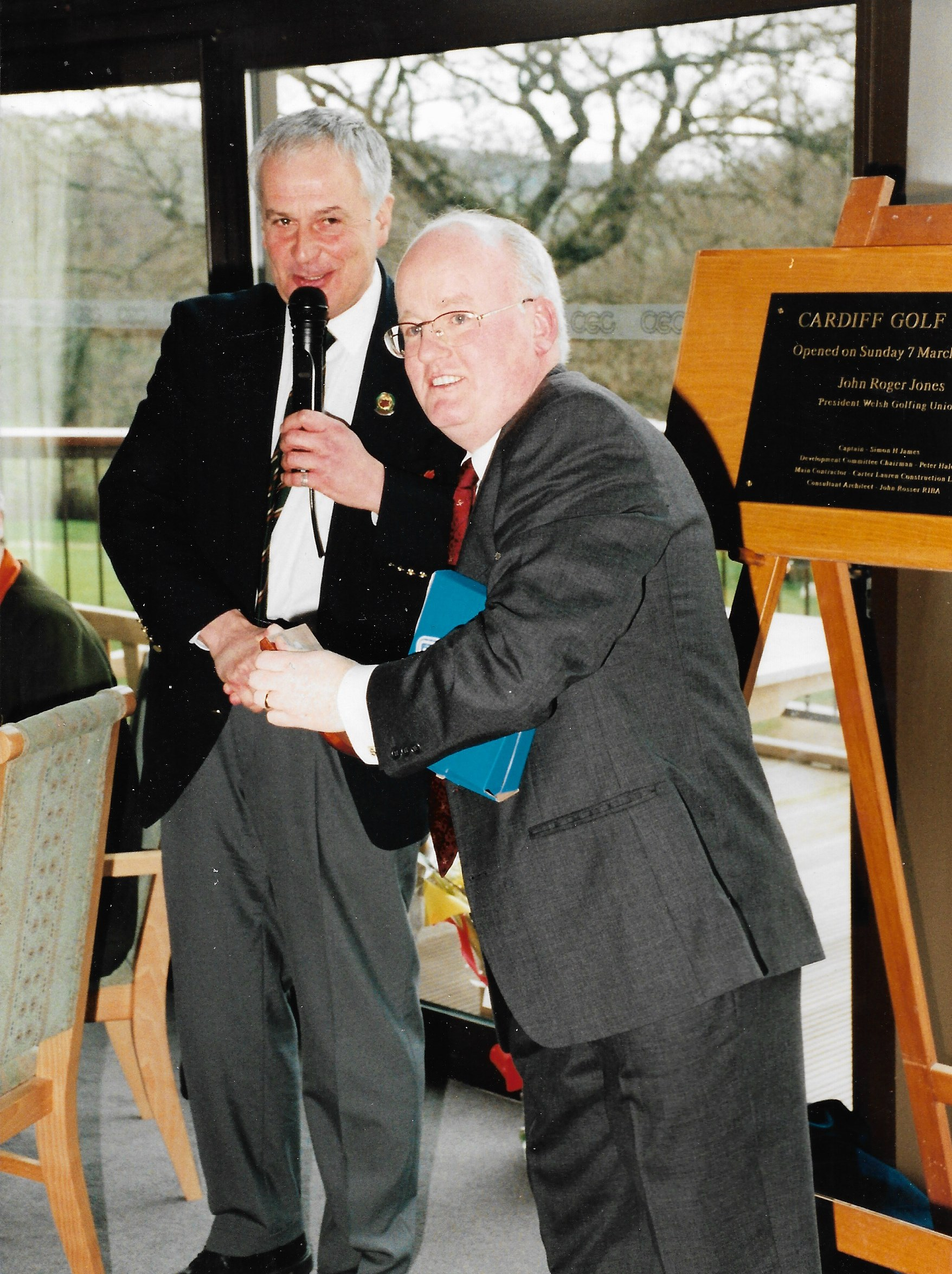 1998 New Clubhouse Opening