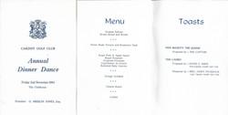 Annual Dinner Dance 1984