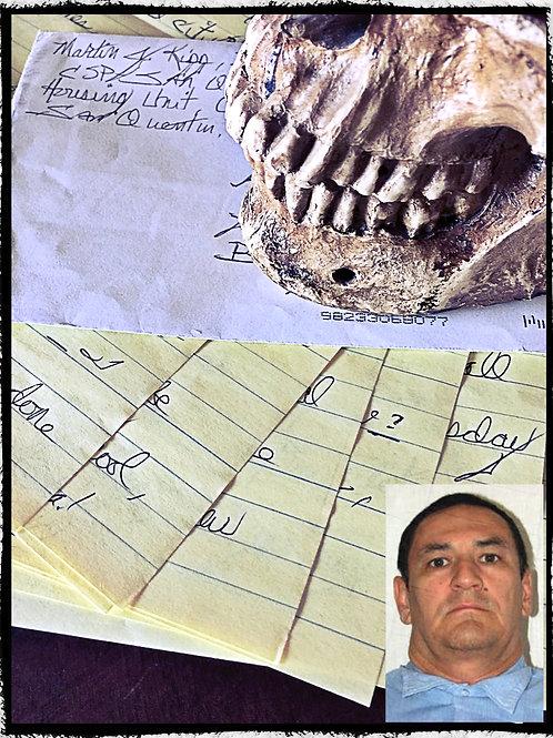 Serial killer - Martin Kipp aka Dr. Crazy – 7 page letter and envelope set