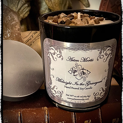 Midnight in the Graveyard - Hand Poured Soy Candle