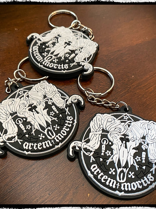 "Artem Mortis Logo - Keychain - ""Artem Mortis is Latin for the Art of De"