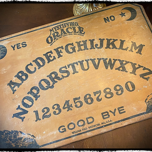 1920's Mystifying Oracle (Ouija) board – William Fuld