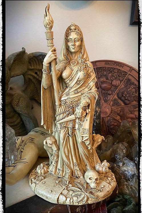Goddess Hecate Statue 2 - Goddess of Magic, Necromancy, Witchcraft