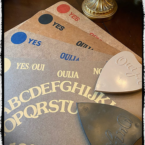 Set 4 of 1950's Ouija Boards - Canadian  Copp Clark