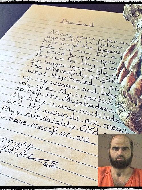 "Convicted Killer Nidal Hasan ""Fort Hood Shooting Rampage"""