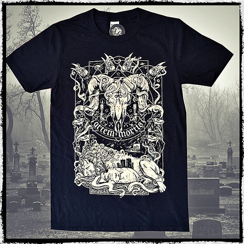 "Artem Mortis Black Tee Shirt ""The Ritual"""