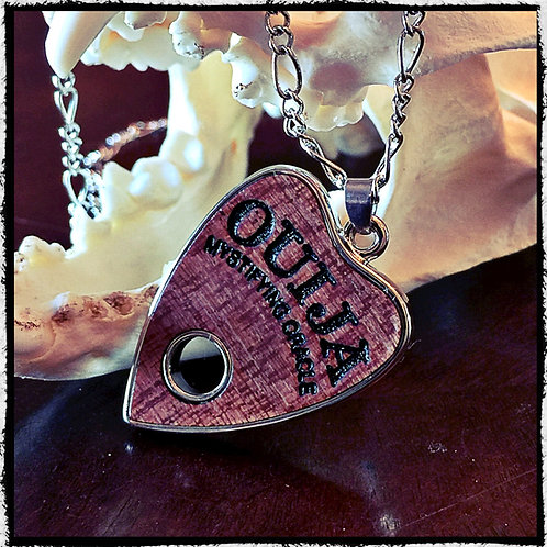 Ouija Planchette Pendant and Necklace