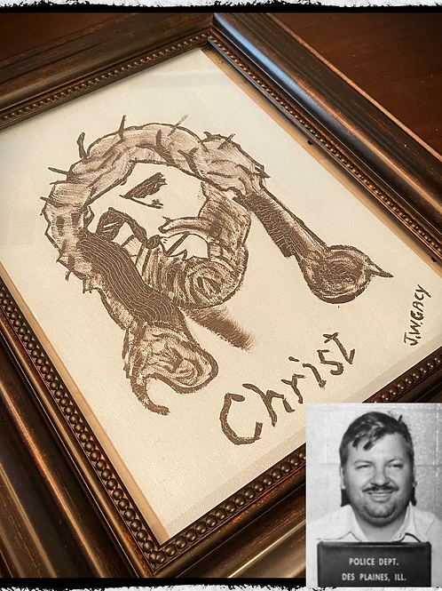 John Wayne Gacy - Christ Original Painting