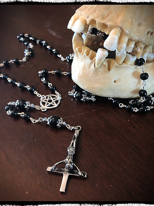 Dark Arts Rosary - Onyx