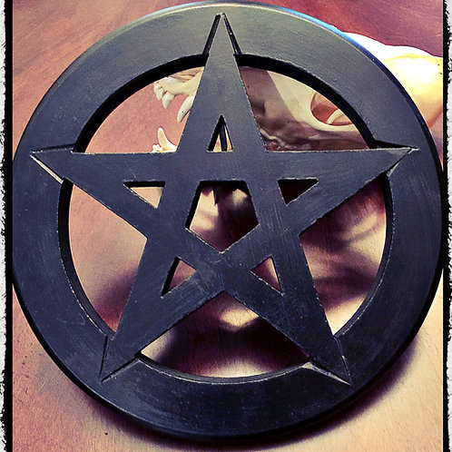 Pentagram Wall Hanging Alter Tile