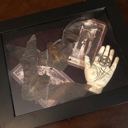 """Magick Between"" - Occult and Oddities Art Piece"