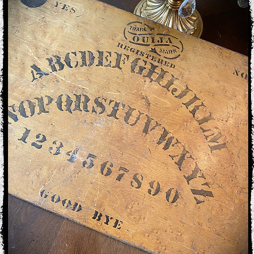 1902 Ouija Board - William Fuld - First design of William Fuld Ouija Boards