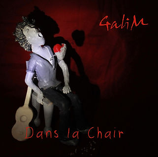 GaliM album Dans la chair CD