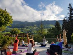 Yoga nel Verde Camminiamoyoga