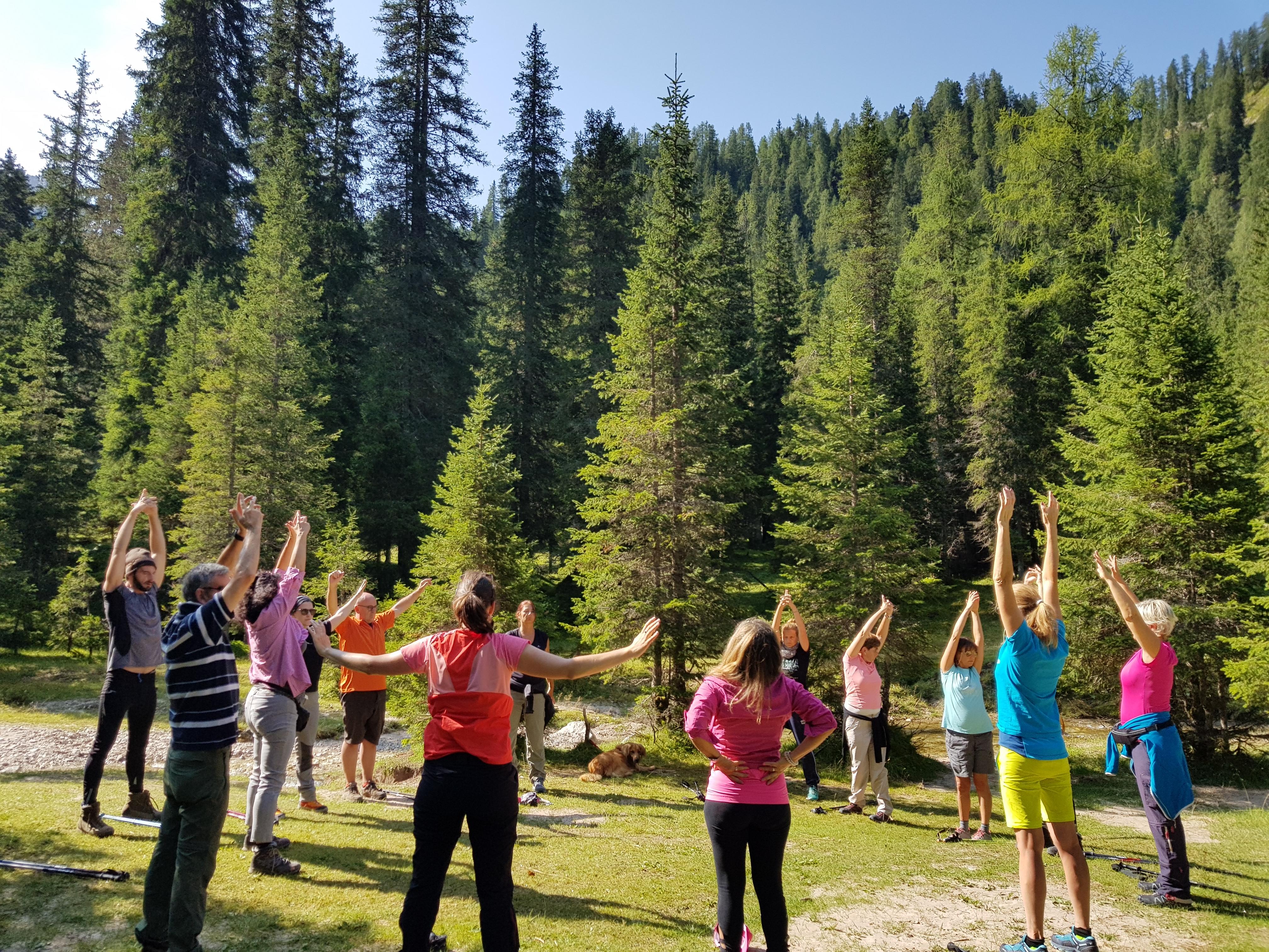 Arpa-Yoga Yoga nel Verde