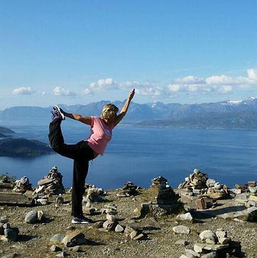 Natarajasana in Norvegia