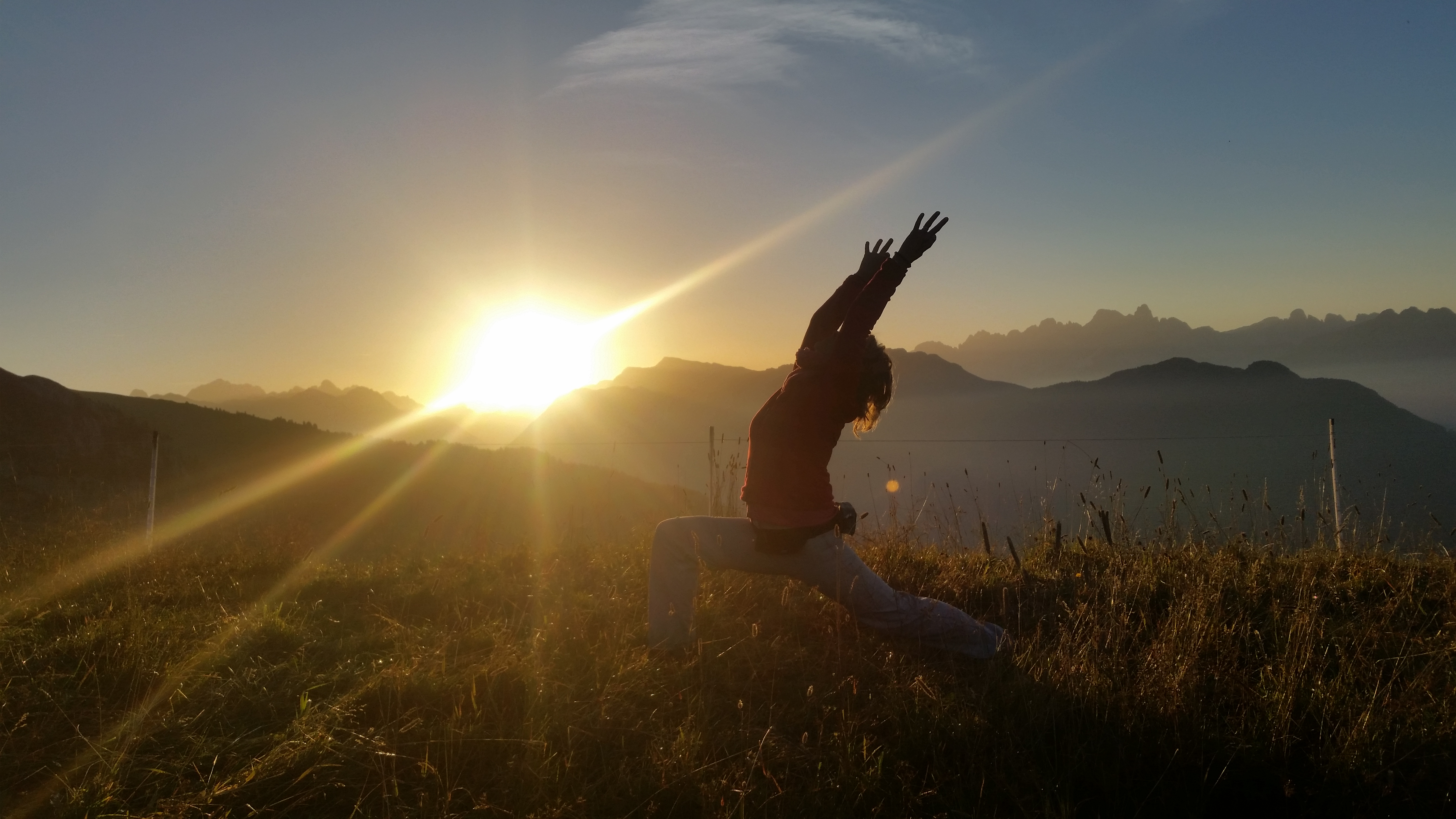 alba sul Latemar Arpa - Yoga
