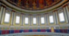 Koepel Basiliek vanaf balkon, rondgang