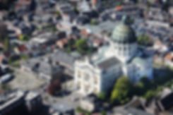 Luftfoto Basilika Oudenbosch