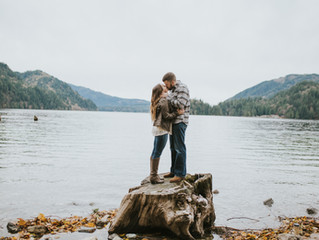 Ryan and Kristine | Engagement - North Shore Lake Whatcom - Bellingham, WA