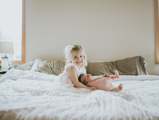 Before & After | Motherhood Lifestyle Session - Bellingham, WA