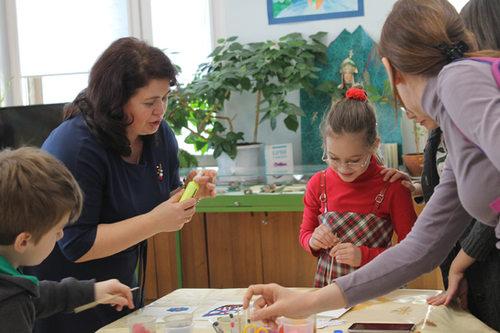 открытие выставки детского художественного творчества «ТЕРРИТОРИЯ ДОБРА И ТВОРЧЕСТВА» в РГДБ