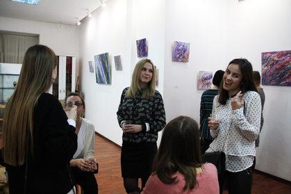 """Персональная выставка Евгении Ломовой """"Головоломка"""""""