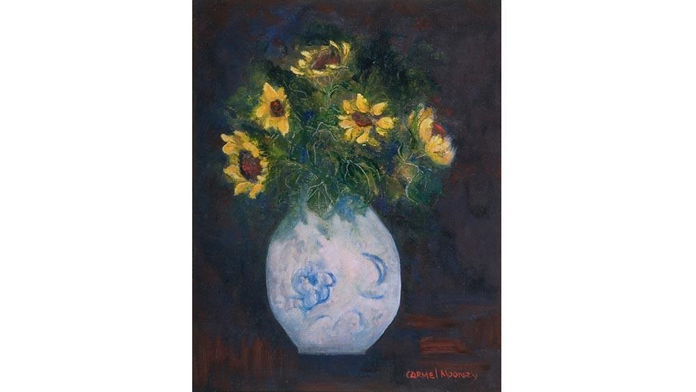 Still Ife with Sunflowers, Tuscany