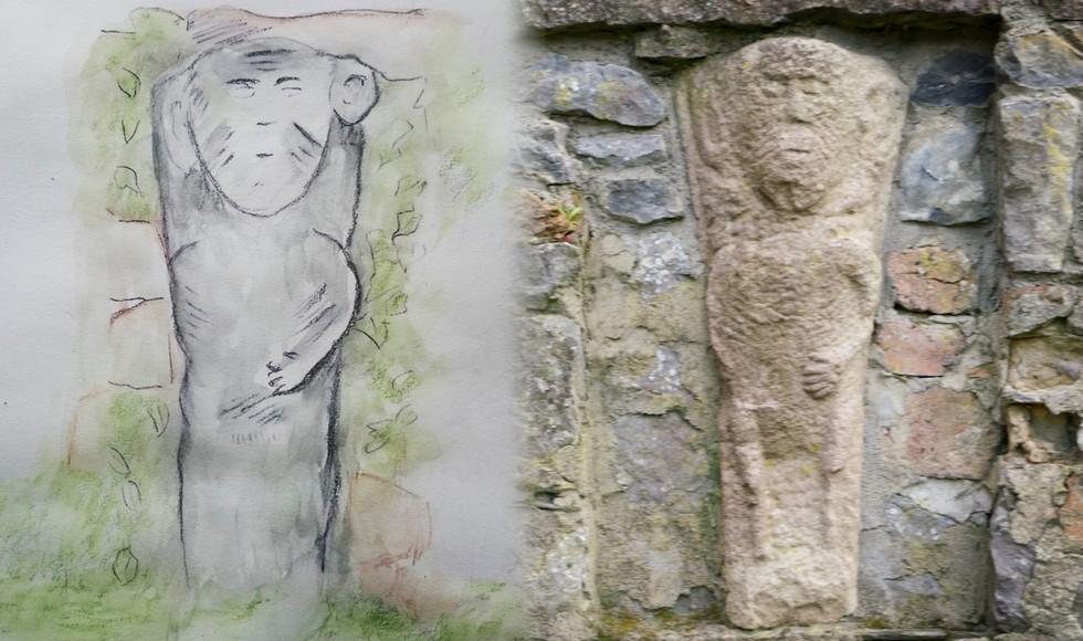 Sheela na Gig, Augustinian Abbey