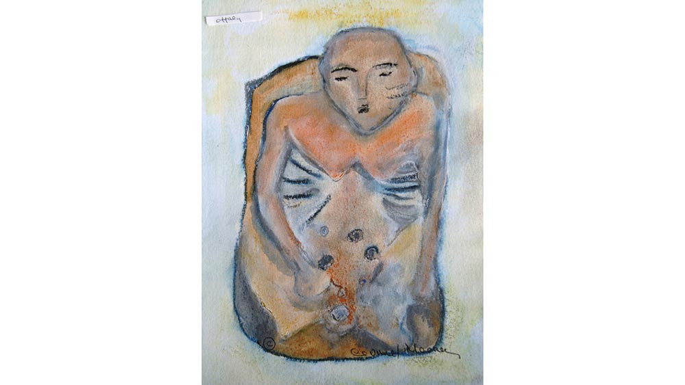 Study for Sierkieran Sheela na Gig, Co. Offaly