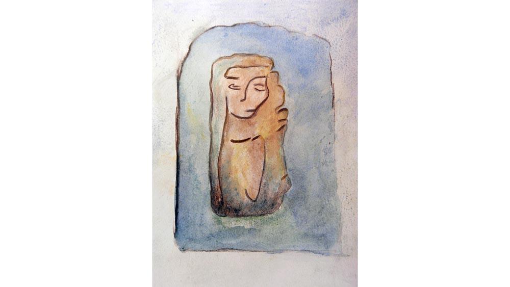 Sheela na Gig study, St. Ninian's I