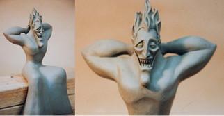 Disney's Hercules Disneyland display  Hades