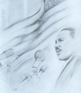 Marin Luther King Jr. graphite