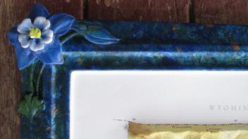 CO map columbine bas-relief