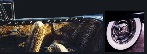 Elvira's Macabre Mobile interior n hubcaps