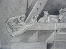 Discarded  graphite