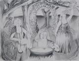 Wyrd Sisters  graphite
