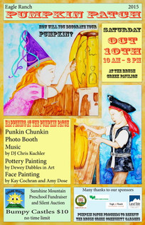 Pumpkin Patch posters Pirate n Princess