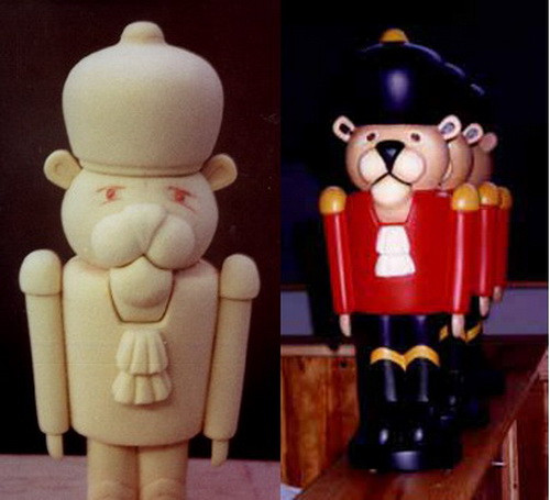 Nutcrackers  before n after