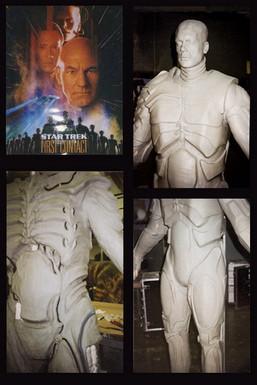 Star Trek First Contact Dummy Borg