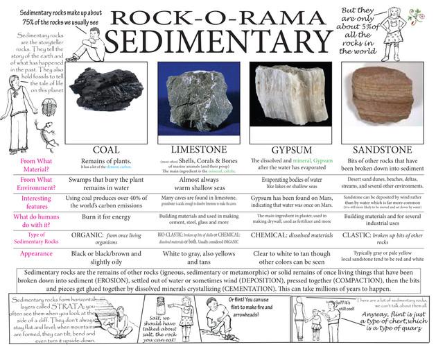 Rock-O-Rama   Sedimentary Rocks